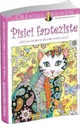 Pachet Pisici fanteziste and 150 carte de colorat si relaxare pentru adulti + Relaxare pentru incepatoare