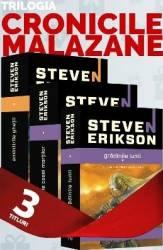 Pachet Seria Cronicile Malazane 1+2+3 - Steven Erikson