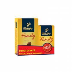 Pachet Tchibo Family Classic 500g+250g Capsule