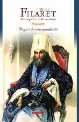 Pagini de corespondenta - Sfantul Filaret Mitropolitul Moscovei