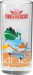 Pahar Din Sticla Disney Personaje Multiple Avioane 270 Ml 1