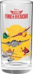 Pahar Din Sticla Disney Personaje Multiple Avioane 270 Ml