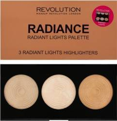 Paleta de culori Makeup Revolution London Highlight Radiance Make-up ochi