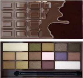Paleta de culori Makeup Revolution London I Love Makeup - I Love Chocolate Make-up ochi