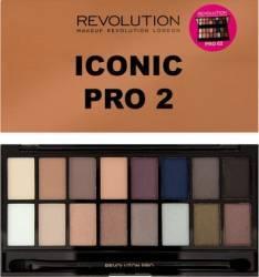 Paleta de culori Makeup Revolution London Iconic - Pro 2 Make-up ochi