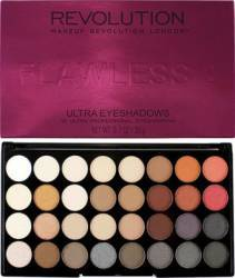 Paleta de culori Makeup Revolution London Ultra 32 - Flawless 2 Make-up ochi