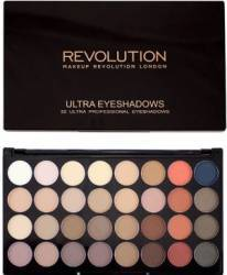 Paleta de culori Makeup Revolution London Ultra 32 - Flawless Matte 2 Make-up ochi