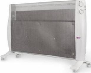 Panou radiant TESY MC20111, putere 2000W, montare podea/perete, 2 trepte de putere, termostat reglabil, culoare alb Aparate de incalzire