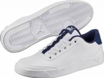 Pantofi sport barbati PUMA COURT BREAKER L Marimea 42.5 Alb Incaltaminte barbati