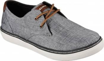 Pantofi Sport Barbati SKECHERS PALEN GADON Grey Marimea 40 Incaltaminte barbati
