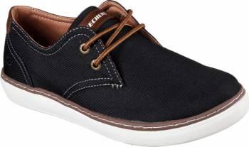 Pantofi Sport Barbati SKECHERS PALEN GADON Black Marimea 45 Incaltaminte barbati