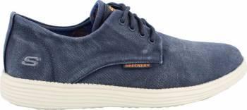 Pantofi Sport barbati SKECHERS STATUS BORGES Navy Marimea 41.5 Incaltaminte barbati