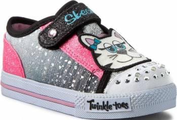Pantofi Sport Copii SKECHERS SHUFFLES-PLAY DATES Marimea 21.5 Incaltaminte copii
