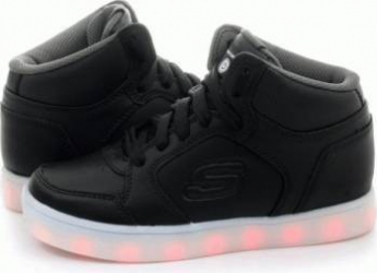 Pantofi sport copii SKECHERS ENERGY LIGHTS Black Marimea 27 Incaltaminte copii