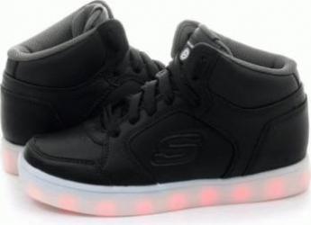 Pantofi sport copii SKECHERS ENERGY LIGHTS Black Marimea 28 Incaltaminte copii