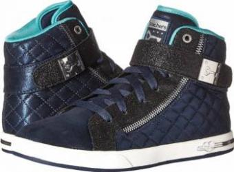 Pantofi sport copii SKECHERS Shoutouts Quilted Crush Marimea 34 Incaltaminte copii