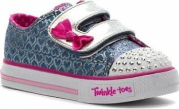Pantofi Sport Copii SKECHERS SHUFFLES GLITTER POP Marimea 28 Incaltaminte copii