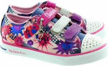 Pantofi Sport Copii SKECHERS TWINKLE BREEZE-POP-TASTIC Marimea 31 Incaltaminte copii