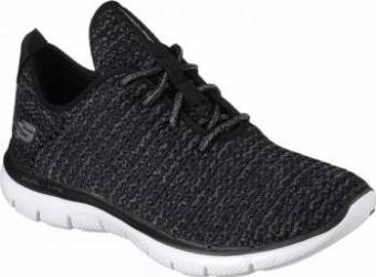Pantofi sport femei SKECHERS FLEX APPEAL 2.0-BOLD MOVE 12773-BKW Marimea 36 Incaltaminte dama