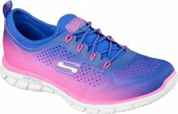 Pantofi Sport Femei SKECHERS GLIDER FEARLESS Blue-Pink Marimea 36 Incaltaminte dama