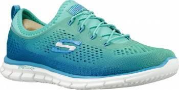 Pantofi Sport Femei SKECHERS GLIDER FEARLESS Turquoise Marimea 38 Incaltaminte dama