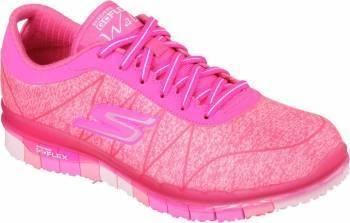 Pantofi Sport Femei SKECHERS GO FLEX ABILITY Pink Marimea 39 Incaltaminte dama
