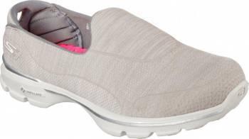 Pantofi Sport Femei SKECHERS GO WALK 3 SUPER SOCK 3 Grey Marimea 38 Incaltaminte dama