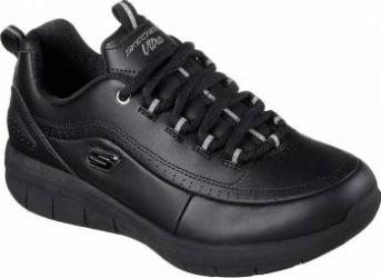 Pantofi sport femei SKECHERS SYNERGY 2.0 12363-BBK Marimea 38 Incaltaminte dama