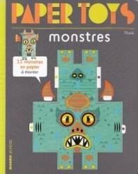Paper Toys Monstres