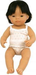 Papusa baiat asiatic Miniland 38 cm Papusi figurine si accesorii papusi