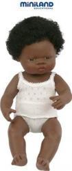 Papusa fetita africana Miniland 38 cm Papusi figurine si accesorii papusi