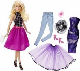 Papusa Mattel Barbie BRB Fashion Mixn Match Blonde Doll Papusi figurine si accesorii papusi