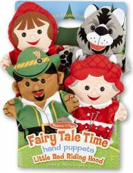 Papusi de mana Scufita Rosie - Melissa and Doug Papusi figurine si accesorii papusi