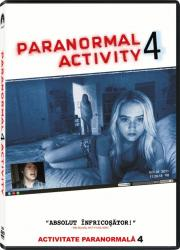 PARANORMAL ACTIVITY 4 DVD 2012