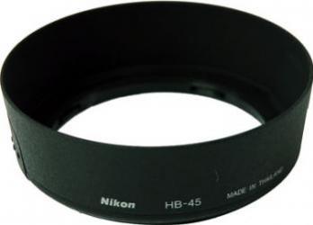 Parasolar Nikon HB-45 pt AF-S DX NIKKOR 18-55mm f3.5-5.6 Accesorii Obiective