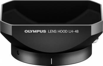 Parasolar Olympus LH-48 pentru M.Zuiko Digital ED 12mm 1 2.0 Negru Accesorii Obiective