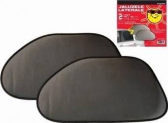Parasolare laterale-spate RoGroup 2 buc/set negru Huse si Accesorii