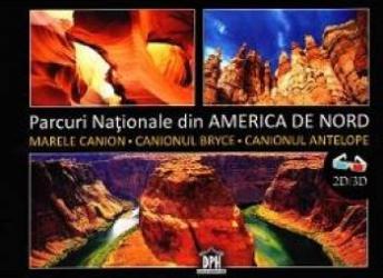 Parcuri nationale din America de Nord 2D+3D + ochelari