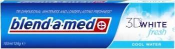Pasta de dinti Blend-a-Med 3D White fresh cool water 100ml Accesorii ingrijire dentara