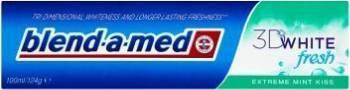 Pasta de dinti Blend-a-Med 3D White fresh extreme mint kiss 100ml Accesorii ingrijire dentara
