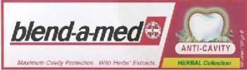 Pasta de dinti Blend-a-Med Anticavity herbal 50ml Accesorii ingrijire dentara