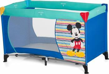 Pat Voiaj Dreamn Play Mickey Geo Blue Patut bebe,tarcuri si saltele