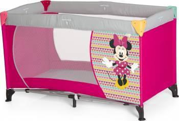 Pat Voiaj Dreamn Play Minnie Geo Pink Patut bebe,tarcuri si saltele