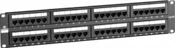 Patch panel Linkbasic UTP 48-port Cat.5e Accesorii retea