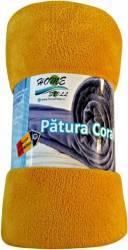 Patura Home Still Coral Fleece 190X220 CM Portocaliu Cuverturi & Paturi