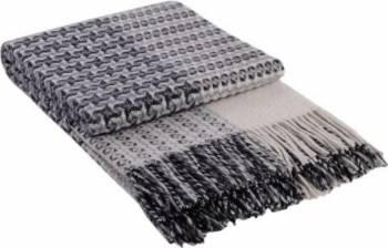 Patura lana Cappuccino 140 x 200 cm Gri