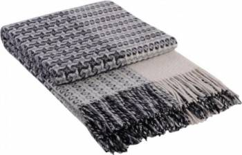 Patura lana Vladi Cappuccino 200 x 220 cm Gri Cuverturi & Paturi