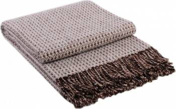 Patura lana Dolce Vita 140 x 200 cm Maro Bonus Balsam de rufe Semana