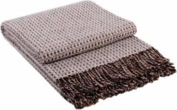 Patura lana Dolce Vita 200 x 220 cm Maro Bonus Balsam de rufe Semana