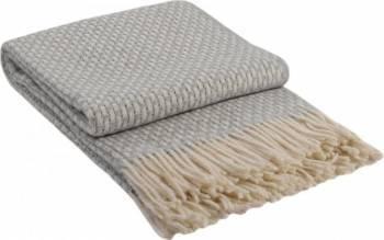 Patura lana Rogojka 140 x 200 cm Gri